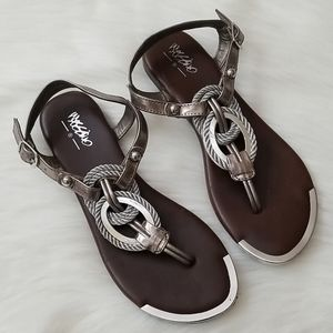 Silver Sandals!!